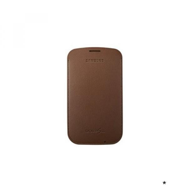S3, S3 Neo Leder Tasche EFC-1G6LD hellbraun