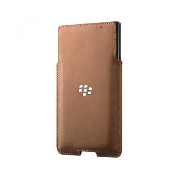 Leather Pocket für Priv braun (ACC-62172-002)