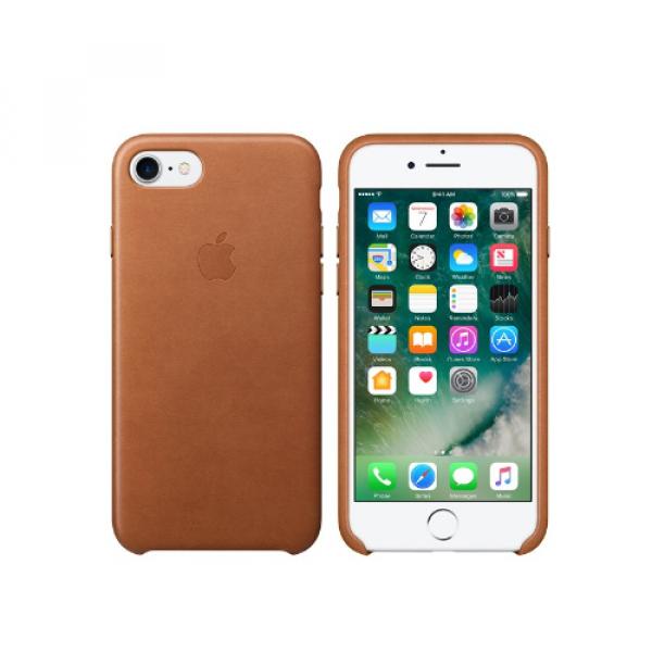 Leder Case für iPhone 8/7 sattelbraun (MQH72ZM/A)