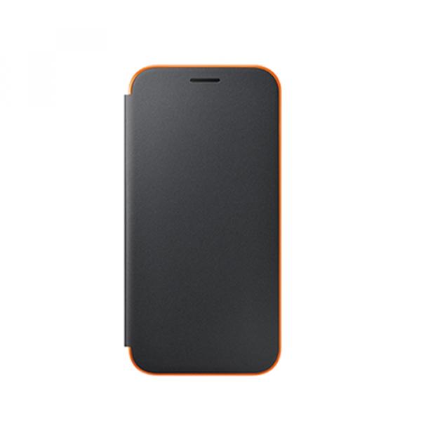 EF-FA320PB Neon Flip Cover für Galaxy A3 (2017) schwarz