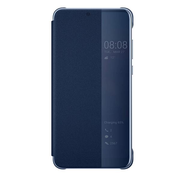 P20 Pro View Flip Cover blau