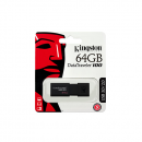 Kingston DataTraveler 100 G3 schwarz 64GB, USB 3.0 (DT100G3/64GB)