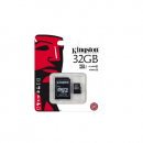 Kingston microSDHC 32GB Kit, UHS-I/Class 10 (SDC10G2/32GB)