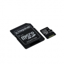 Kingston microSDXC 128GB Kit, UHS-I/Class 10 (SDC10G2/128GB)